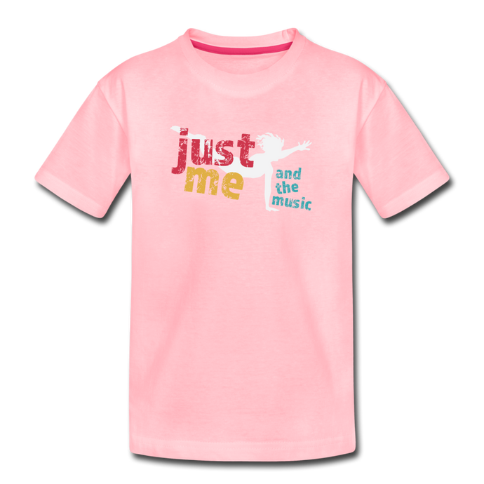 Just Me and the Music Kids' Premium T-Shirt - Digital Crayons