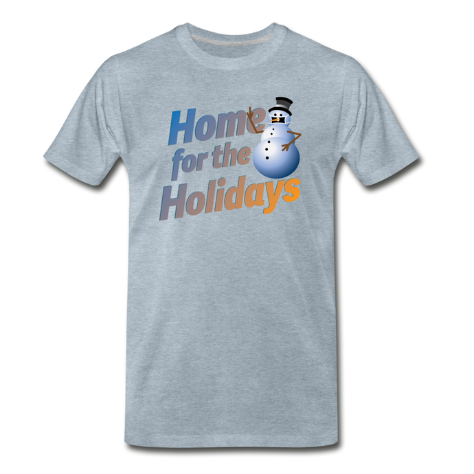 Home For The Holidays - heather ice blue
