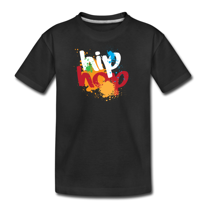 Hip Hop Kids' Premium T-Shirt - Digital Crayons