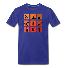 Load image into Gallery viewer, Breakdance Men's Premium T-Shirt - Digital Crayons