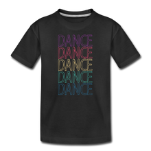 Load image into Gallery viewer, Dance, Dance, Dance, Dance, Dance Kids' Premium T-Shirt - Digital Crayons