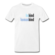 Load image into Gallery viewer, Be Human - Be Kind, Humankind - Men - white
