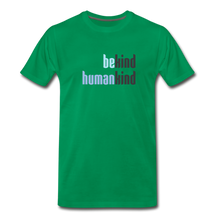 Load image into Gallery viewer, Be Human - Be Kind, Humankind - Men - kelly green