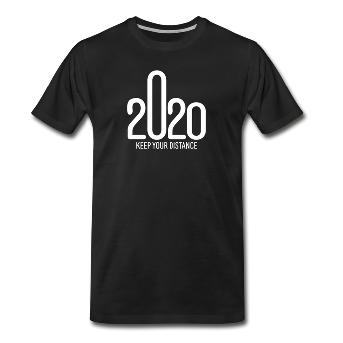 2020 Keep Your Distance - Men - black