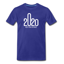 Load image into Gallery viewer, 2020 Keep Your Distance - Men - royal blue