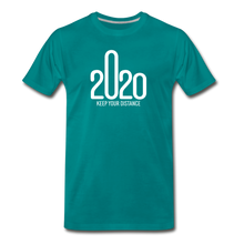 Load image into Gallery viewer, 2020 Keep Your Distance - Men - teal