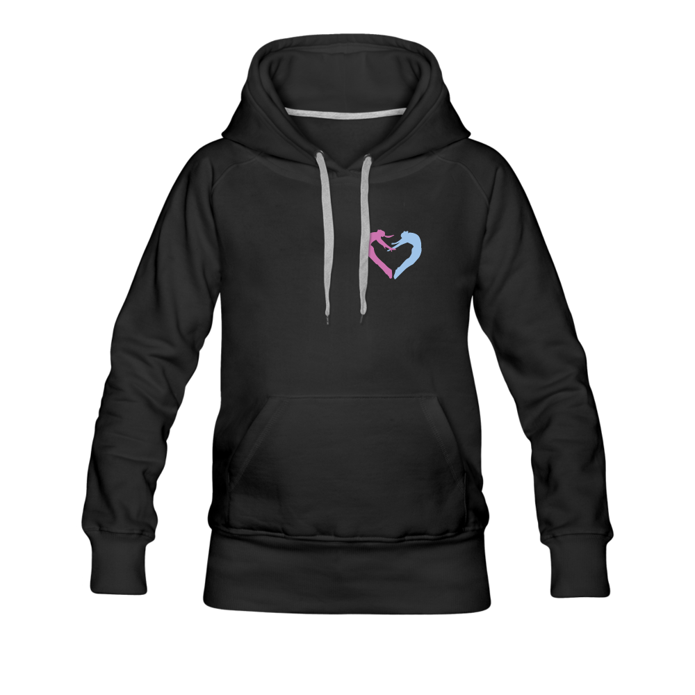 Dancers Heart Women's Premium Hoodie - Digital Crayons