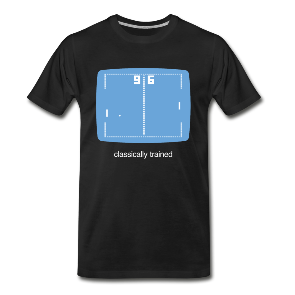Classically Trained Gamer Men's Premium T-Shirt - Digital Crayons