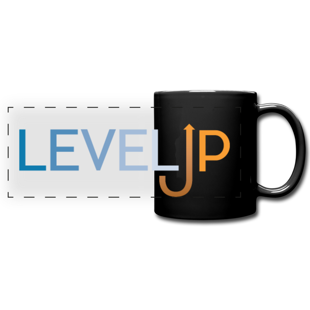 Level Up Panoramic Mug - Digital Crayons