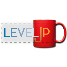 Load image into Gallery viewer, Level Up Panoramic Mug - red