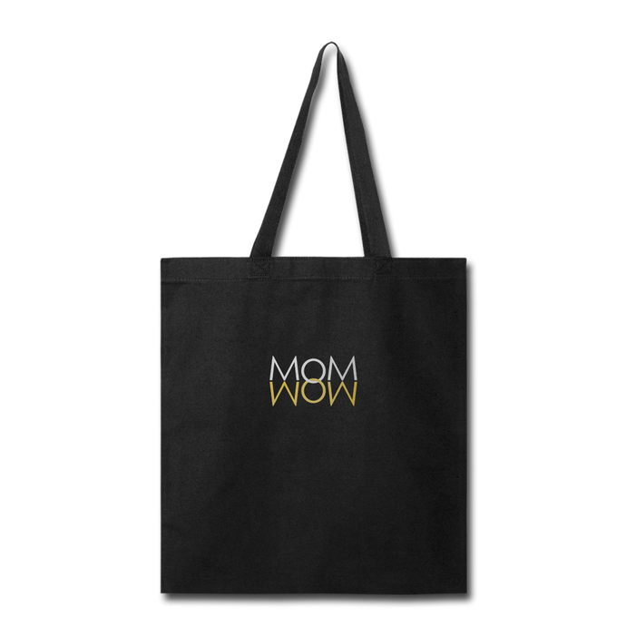 Mom Wow Tote Bag - Digital Crayons