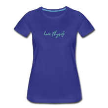 Load image into Gallery viewer, Love Thyself Women's Premium T-Shirt - royal blue