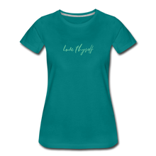 Load image into Gallery viewer, Love Thyself Women's Premium T-Shirt - teal