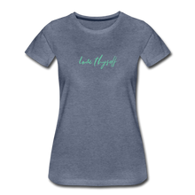 Load image into Gallery viewer, Love Thyself Women's Premium T-Shirt - heather blue