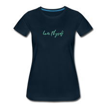 Load image into Gallery viewer, Love Thyself Women's Premium T-Shirt - deep navy