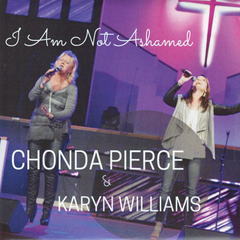 """I Am Not Ashamed"" Music CD <BR><BR>"