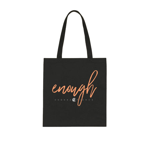 Enough Canvas Tote