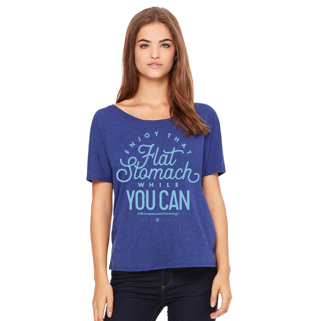 Flat Stomach Tee Chonda Pierce