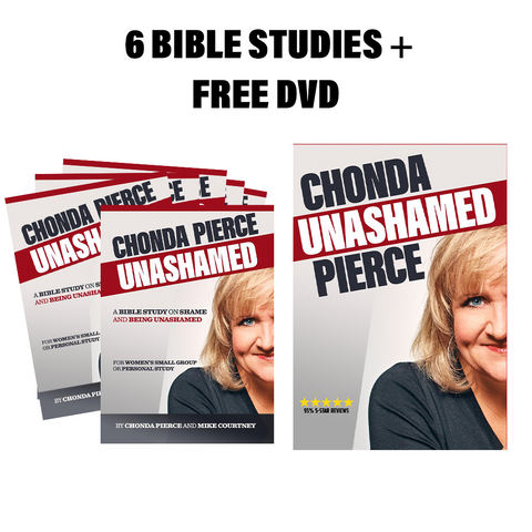 Unashamed GROUP DVD/Bible Study Bundle (6 Books + 1 DVD)