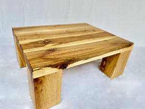 Solid Oak Coffee Table - Simple - Main View