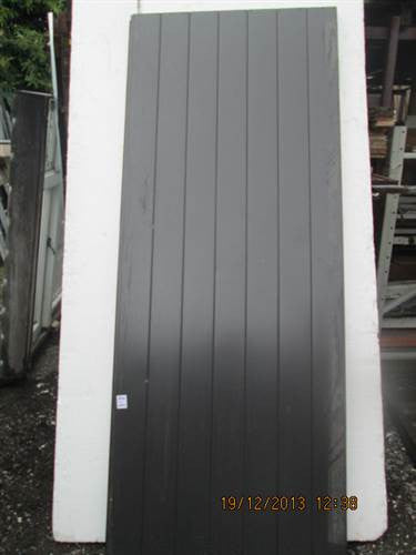 Slate Grey Aluminum Door 2040H x 820W