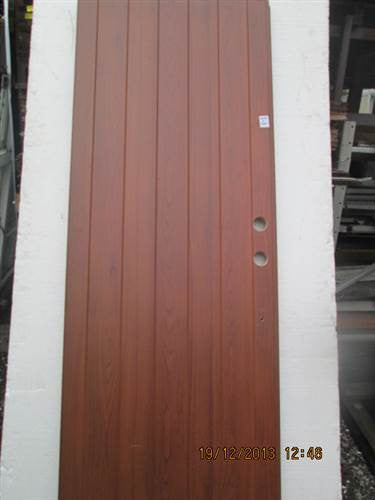 Wood Grain Effect Aluminum French Doors