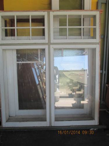 Box Window with Top Opening Colonial Lite