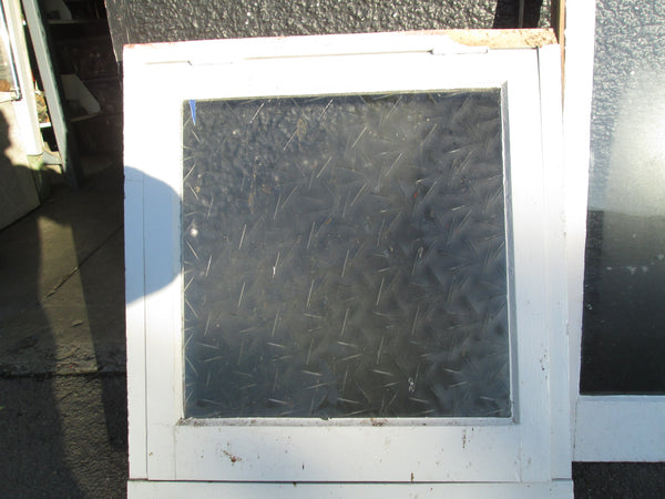 1 Lite Obscure Glass Opening Window 720H x 620W x 130D