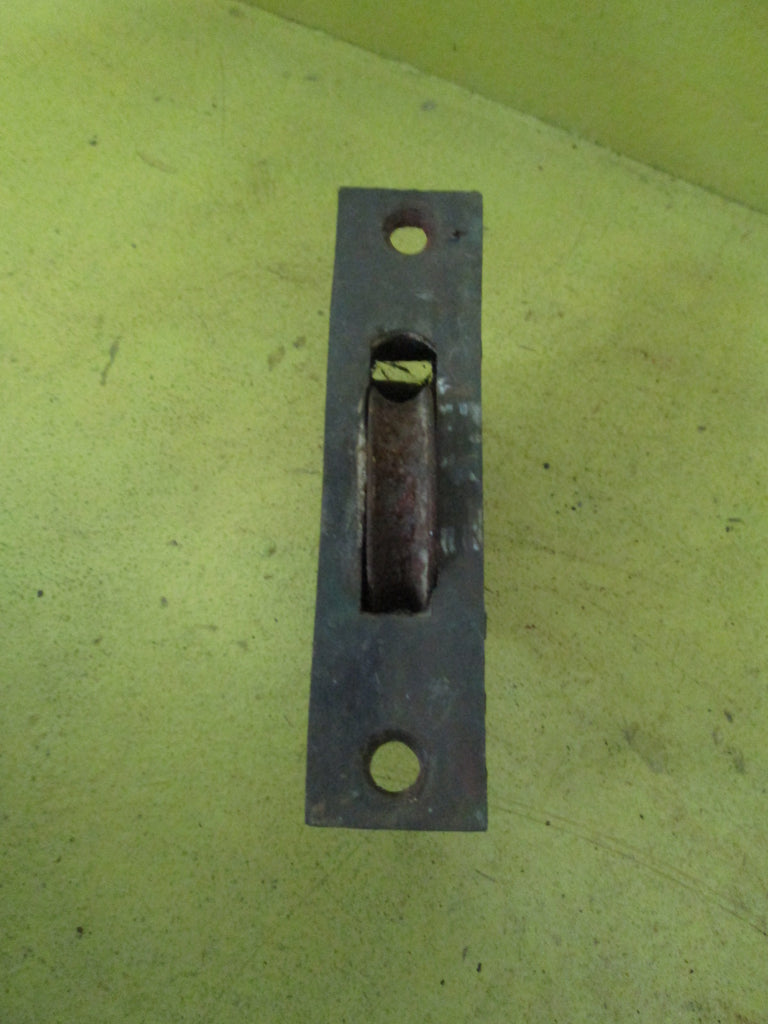 Small Rectangle Sash Pulley with Brass Plate 106L x 25W x 43D