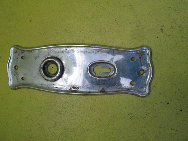 Art Deco Chrome 1920's Door Plate 180L x 60W