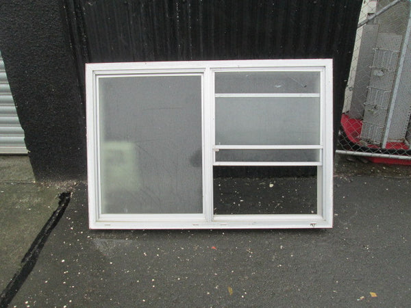 3 Lite Aluminum Window with Sliding Opening Window(1025H x 1530W x 150D)