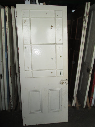 Villa Parlour Door with Vintage Glass 2000H x 810W x 40D