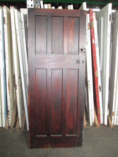 Art Deco 6 Panel Interior Door 2020H  x 810W x 45D
