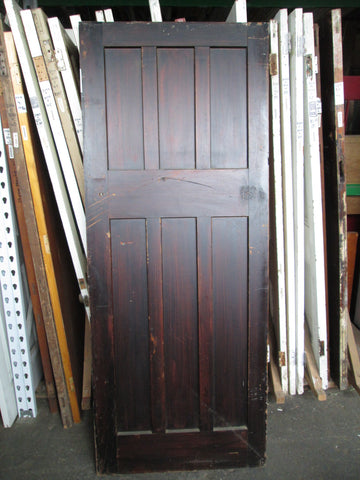 6 Panel Art Deco Interior Door 2000H x 810W x 45D