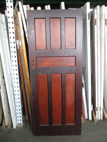 7 Panel Art Deco Door 2000H x 810W x 45D