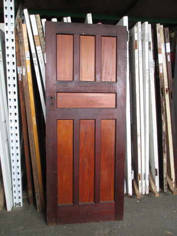 Art Deco 7 Panel Door 2000H x 810 x 45D