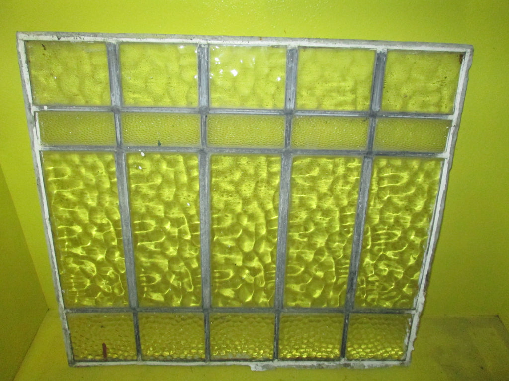 Leadlight Panelling with Rectangle Panel with Clear and Pattern Glass 510W x 460H