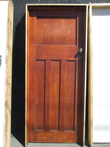 Cedar Craftsman Door with Frame 2010H x 850W  x 125D/Door 1980H x 780W