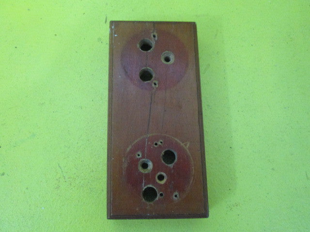 Small Rectangle Wooden Mounting Block For Vintage Switch 160l X 75w