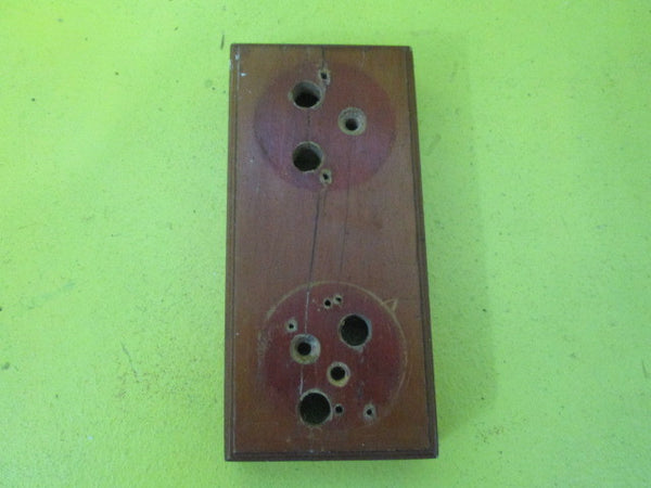 Small Rectangle Wooden Mounting Block for Vintage Switch (160L x 75W x 30H)