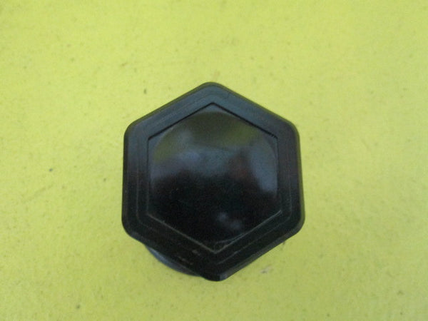 Art Deco Hexagonal Door knob & Rose(Plate 47D/Knob 44D x 55H)