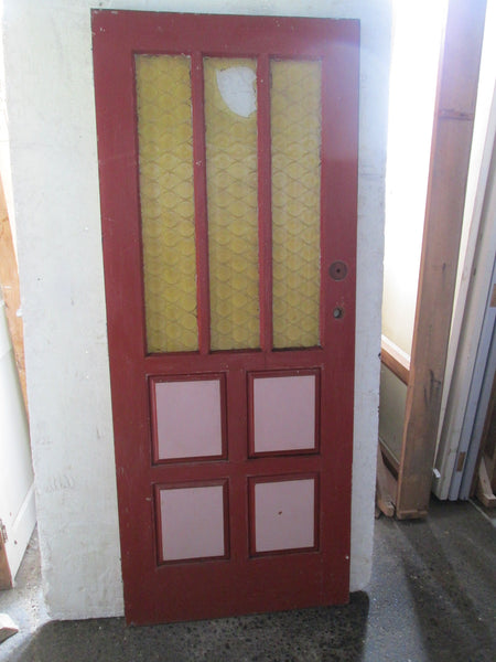 3 Lite Retro 4 Panel Retro Door 1980H x 810W x 45D