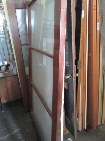 Large 3 Lite Glass Sliding Door 1970H x 1220W x 40D