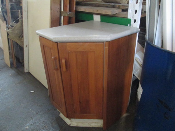 Rimu Corner Cupboard with Laminated Top