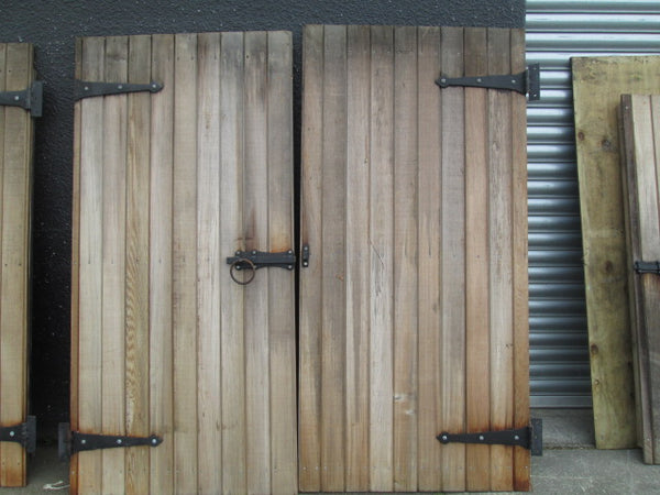 Cedar Barn Yard Doors with Hardware( 2120H x 2040W approx)