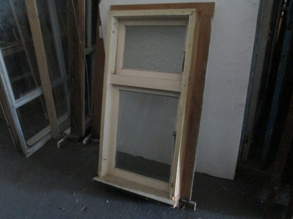 2 Lite Top Opening Bungalow Window 1215H x 605W x 115D