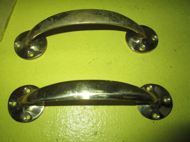 French Door Pulls With Round Plate (150L X 35W X 35H) ...