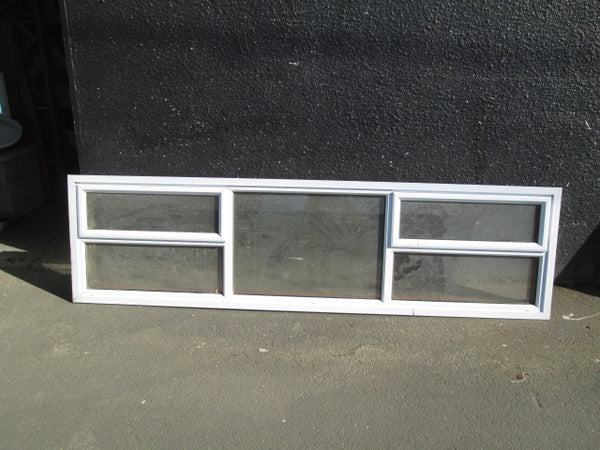 White Aluminum Window (600H x 2400W x 170D)