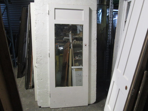 Beveled Mirror Glass Internal Wardrobe Door 1990H x 760 x 40D