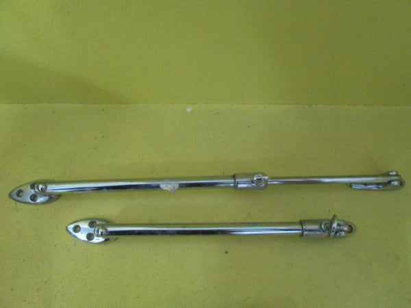 Chrome Telescopic Sliding Casement Stays(355L & 340L)